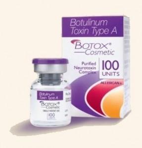 Препарат Ботокс, применяемый  для инъекций вокруг губ