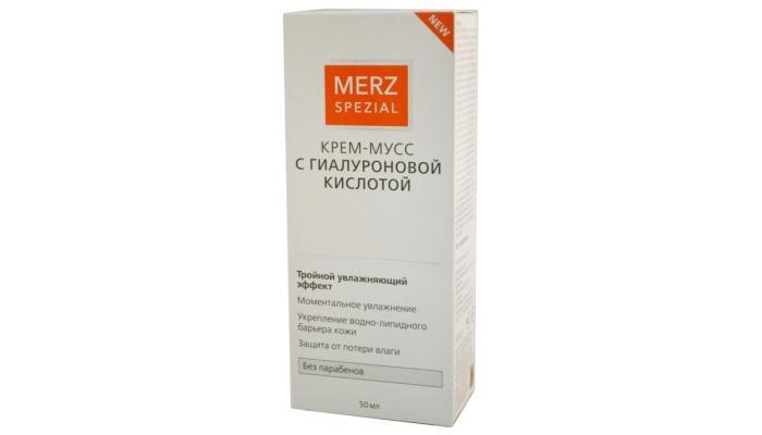 Гиалуроновый крем-мусc от компании Merz Special
